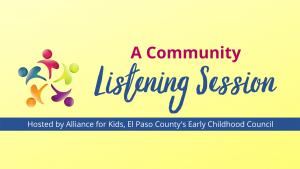 Community Listening Session @ CPCD giving children a head start