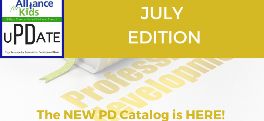 July PD Update now available!