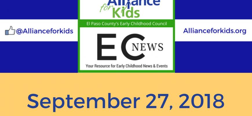 Read the EC News | 9.27